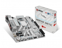Placa de baza MSI Socket LGA1151, H270M MORTAR ARCTIC, Intel H270 Chipset, 4*DDR4 2400/2133 MHz, 2*PCI-Ex16,